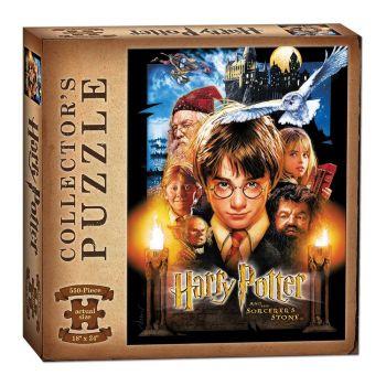 Harry Potter à l'école des sorciers puzzle Collector Movie (550 pièces) --- EMBALLAGE ENDOMMAGE