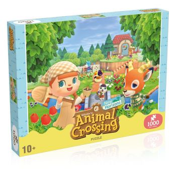 Animal Crossing New Horizons Puzzle Characters (1000 pièces)