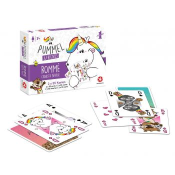Chubby Unicorn jeux de cartes Number 1 Set Rommé - Bridge - Canasta