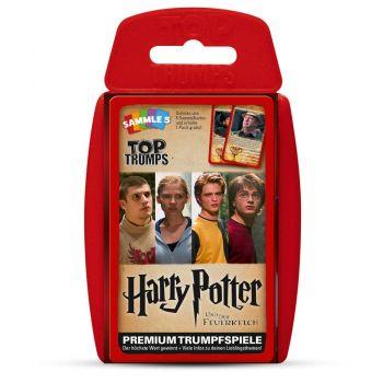 *****Harry Potter et la Coupe de feu Top Trumps *ALLEMAND*