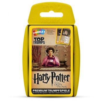 *****Harry Potter et l´Ordre du phénix Top Trumps *ALLEMAND*