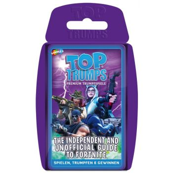 Independent & Unofficial Guide to Fortnite jeu de cartes Top Trumps *ALLEMAND*