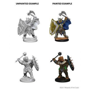 D&D Nolzur's Marvelous Miniatures assortiment packs miniatures à peindre Dragonborn Male Paladin (6)