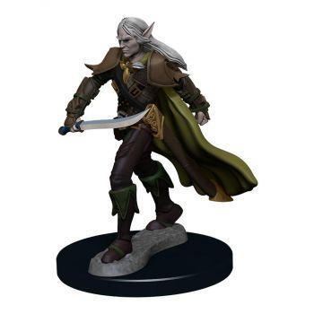 Pathfinder Battles assortiment miniature Premium prépeinte Elf Fighter Male (6)