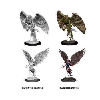 D&D Nolzur's Marvelous Miniatures assortiment packs miniatures à peindre Harpy & Arakocra (6)