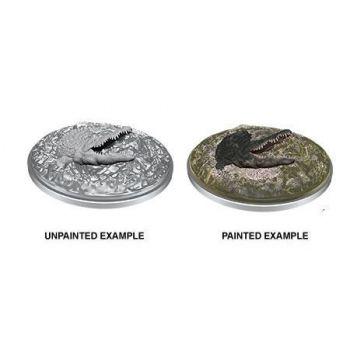D&D Nolzur's Marvelous Miniatures assortiment packs miniatures à peindre Crocodile (6)