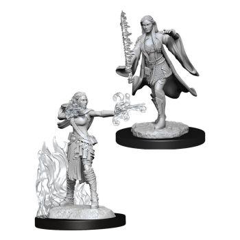 D&D Nolzur's Marvelous Miniatures packs miniatures à peindre Multiclass Warlock Sorcerer Female (6)