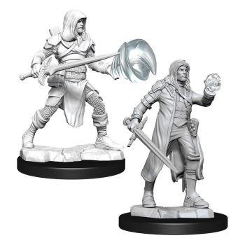 D&D Nolzur's Marvelous Miniatures packs miniatures à peindre Multiclass Fighter & Wizard Male (6)