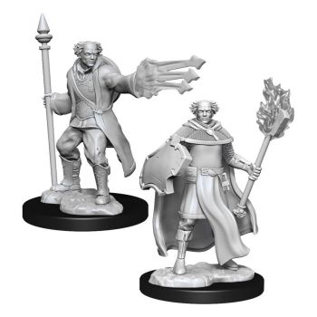 D&D Nolzur's Marvelous Miniatures packs miniatures à peindre Multiclass Cleric & Wizard Male (6)