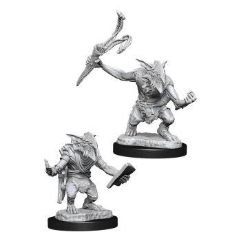 Magic the Gathering Deep Cuts packs miniatures à peindre Goblin Guide & Goblin Bushwhacker (6)