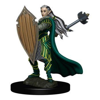 D&D Icons of the Realms miniature Premium prépeinte Elf Paladin Female (6)