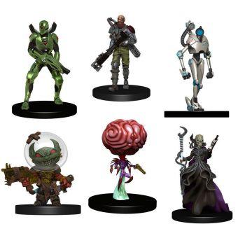 Starfinder Battles pack 6 miniatures Starter Pack: Monster Pack