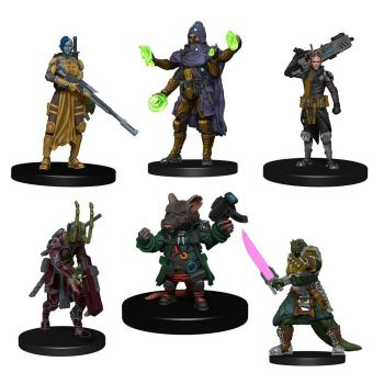 Starfinder Battles pack 6 miniatures Starter Pack: Heroes Pack