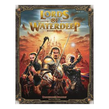 Dungeons & Dragons jeu de plateau Lords of Waterdeep *ANGLAIS* --- EMBALLAGE ENDOMMAGE