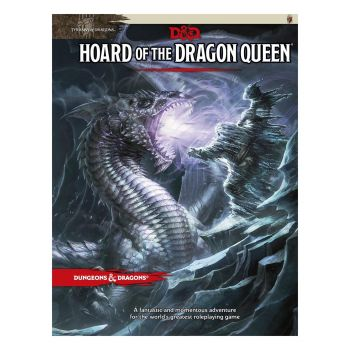 Dungeons & Dragons RPG Adventure Tyranny of Dragons - Hoard of the Dragon Queen *ANGLAIS*
