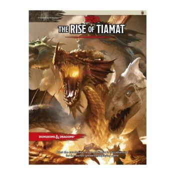Dungeons & Dragons RPG Adventure Tyranny of Dragons - The Rise of Tiamat *ANGLAIS*