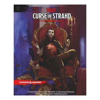 Dungeons & Dragons RPG Adventure Curse of Strahd *ANGLAIS*