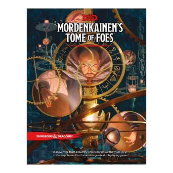 Dungeons & Dragons RPG Mordenkainen's Tome of Foes *ANGLAIS*