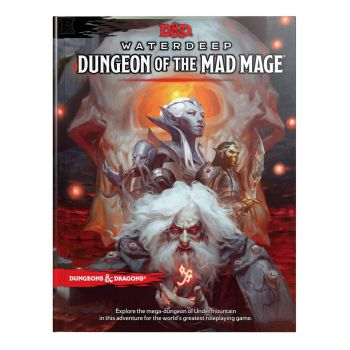Dungeons & Dragons RPG Adventure Waterdeep : Dungeon of the Mad Mage *ANGLAIS*
