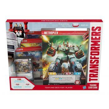 Transformers TCG Metroplex Deck *ANGLAIS*
