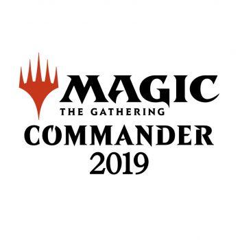 Magic the Gathering Commander 2019 decks (4) *ALLEMAND*