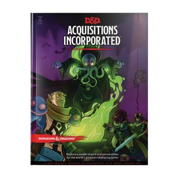 Dungeons & Dragons RPG Adventure Acquisitions Incorporated *ANGLAIS*