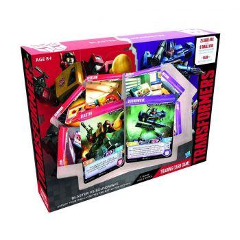 Transformers TCG Blaster vs Soundwave Deck *ANGLAIS*