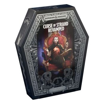 Dungeons & Dragons RPG Box Set Curse of Strahd: Revamped *ANGLAIS*