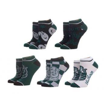 Harry Potter pack 5 paires de chaussettes femme Slytherin