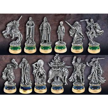Le Seigneur des Anneaux set de pièces de jeu d´échecs Le Retour du Roi