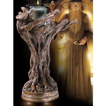 Le Seigneur des Anneaux bougeoir bâton de Gandalf le gris 23 cm