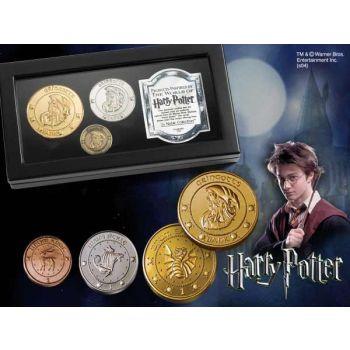 Harry Potter réplique pièces des Gobelins de Gringotts