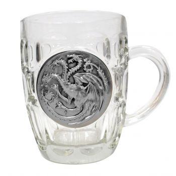 Le Trône de fer chope Targaryen Metallic Logo