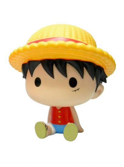 One Piece tirelire Chibi PVC Luffy 15 cm