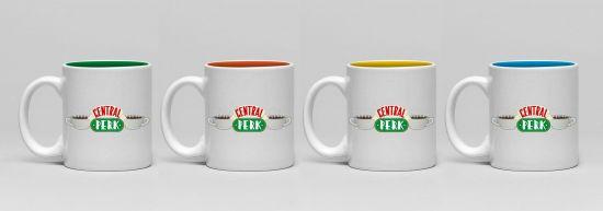 Friends pack 4 tasses Espresso Central Perk