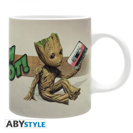 MARVEL - Mug - 320 ml - -Groot- - subli - avec boîte AB_ABYMUG369