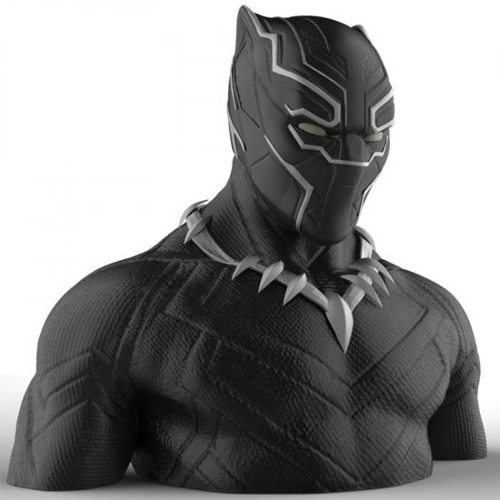 Marvel Comics buste / tirelire Black Panther 20 cm --- EMBALLAGE ENDOMMAGE