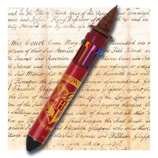 Harry Potter stylo 10 couleurs choixpeau magique HEO_BSSSLHP005-CHLD