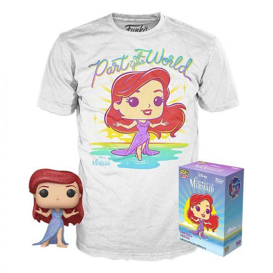 La Petite Sirène POP! & Tee set figurine et T-Shirt Ariel heo Exclusive