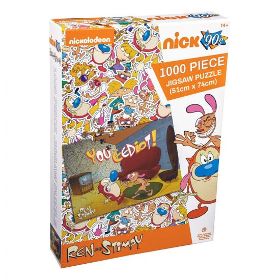 Ren & Stimpy puzzle You Eediot (1000 pièces)