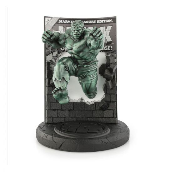 Marvel statuette Pewter Collectible Hulk Green Finish Limited Edition 22 cm