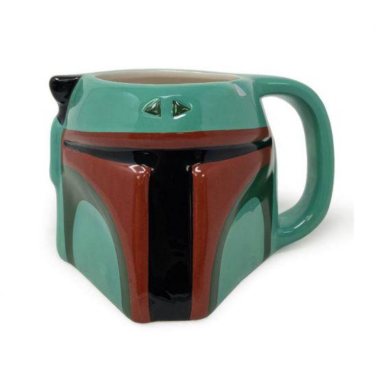 Star Wars mug Shaped 3D Boba Fett