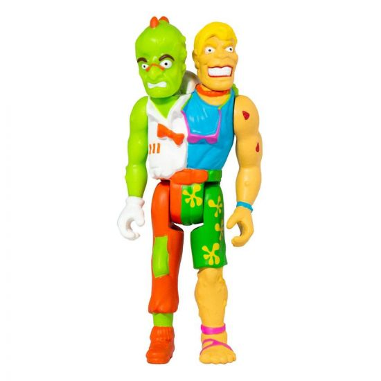 Toxic Crusaders Wave 1 figurine ReAction Headbanger 10 cm --- EMBALLAGE ENDOMMAGE