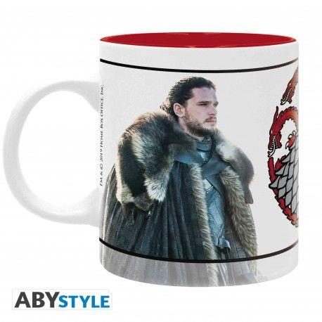 GAME OF THRONES - Mug - 320 ml - Jon & Daenerys