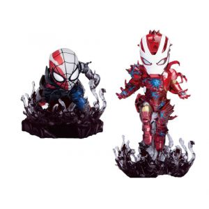 Marvel Comics pack 2 figurine Mini Egg Attack Maximum Venom Special Color SDCC 2020 8 cm