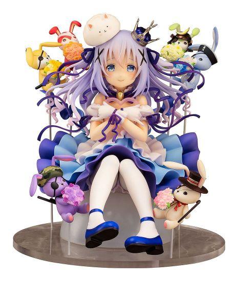 Is the Order a Rabbit statuette PVC 1/7 Chino & Rabbit Dolls 18 cm