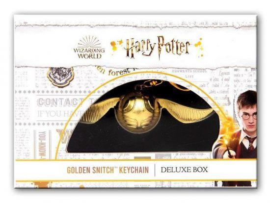Harry Potter porte-clé Vif d'or Deluxe Box 12 cm
