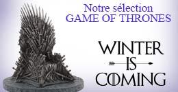 Retrouvez tous nos articles Game Of Thrones