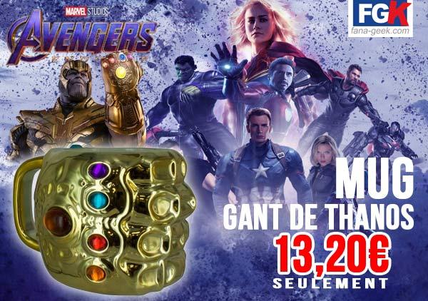 Le gant de Thanos sur fana-geek.com